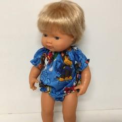 Miniland Dolls  Paw Patrol Romper to fit 38cm dolls