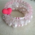 PRETTY IN PINK Stacked Bracelet
