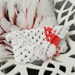 Medium Macrame Clutch Bag