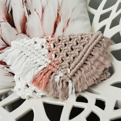 Large Macrame Clutch Bag