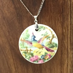 Broadway Pheasant on Sterling Silver