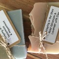 Pack of 4 Tallow Based Soaps, large size.