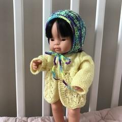 Bonnet for Miniland Doll 38cm