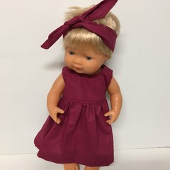 Miniland Dolls   Dress to fit 38cm Dolls