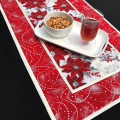 Elegant Handmade Christmas Table Runner