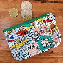 Coin purse - super cat