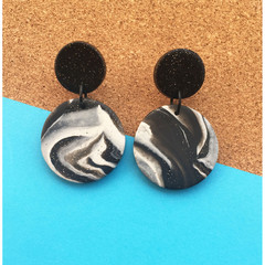 Mono-Classic Dangle Earrings