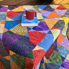 Vibe Handmade Patchwork Quilt