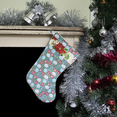 Christmas Stocking with dog Christmas quotes - Fun Christmas Stocking