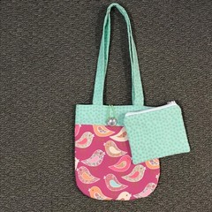 Birdies handbag and purse