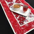 Elegant Handmade Christmas Table Runner