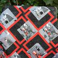 Spooky Handmade Patchwork Quilt
