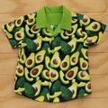 Boy's Button up Shirt - Smashing Avocado - Size 3