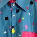 Shape Invaders Shirt - L Size Sample