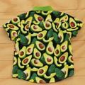Boy's Button up Shirt - Smashing Avocado - Size 3