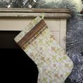 Christian Crosses Christmas stocking, holiday decor