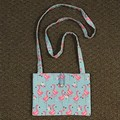Flamingos cross-body bag