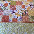 CITRUS Double,  Queen or King Handmade Patchwork Quilt