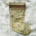 Christian Crosses Christmas stocking, holiday decor