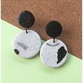 White-Classic Dangle Earrings