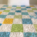 Baby Handmade Patchwork Cot Quilt or Play Mat