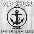 Anchor Digital Clipart Image