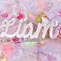 Custom Name Christmas Decorations -Gold/Silver Acrylic