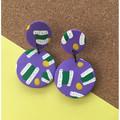 Purple All Sorts Earrings