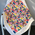 My Own Zoo Handmade Patchwork Baby Cot Quilt