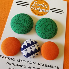 Funky Geometric Flat Magnet Set