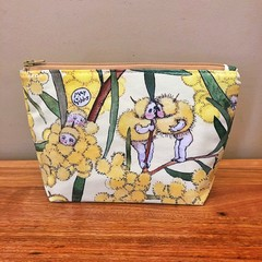 Pouch - Blossom Babies Yellow
