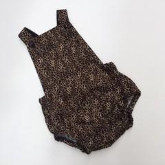 """Leopard print""Romper size 1"