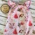 Christmas Seaside Dress Size 2 Custom Order for Michelle