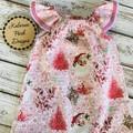 Christmas Seaside Dress Size 00 Custom Order for Michelle