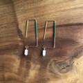 Geometric Hook Earrings