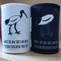 Bin Chicken (Ibis) Stubby Cooler // Stubbie Holder // Free Post to Aus
