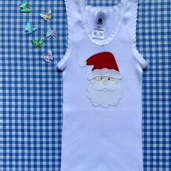Singlet OR Onesie - Santa