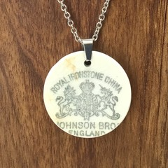 Vintage Johnson Bros Backstamp