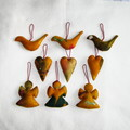 9 Felted Christmas Decorations #43