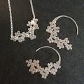 Daisy Chain Hoop Earrings