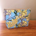 Pouch - Blossom Babies Blue