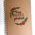Prayer Journal HAND-PAINTED