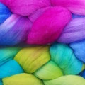 Hand Painted Wool Roving- BEWITCHED