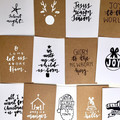 Christmas Cards 6 pack HANDMADE