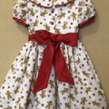 """Classic Style """"Gingerbread"""" Christmas dress - Size 4"""