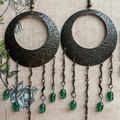 Earthy Chandelier Earrings