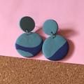 Colour Block Earrings