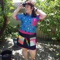 """Magic Tricks Skirt - 32"""" to 37"""" Waist"""