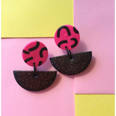 Pink Smiles Earrings