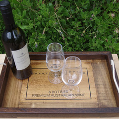 Rustic Grant Burge Recycled Timber Tray and BONUS gift